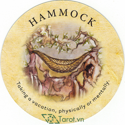 Ý nghĩa lá Hammock trong bộ bài Tea Leaf Fortune Cards