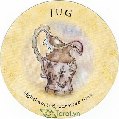 Ý nghĩa lá Jug trong bộ bài Tea Leaf Fortune Cards