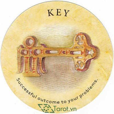 Ý nghĩa lá Key trong bộ bài Tea Leaf Fortune Cards