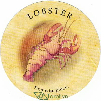 Ý nghĩa lá Lobster trong bộ bài Tea Leaf Fortune Cards