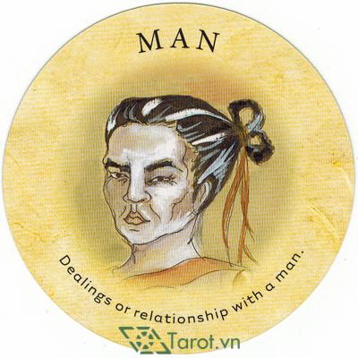 Ý nghĩa lá Man trong bộ bài Tea Leaf Fortune Cards