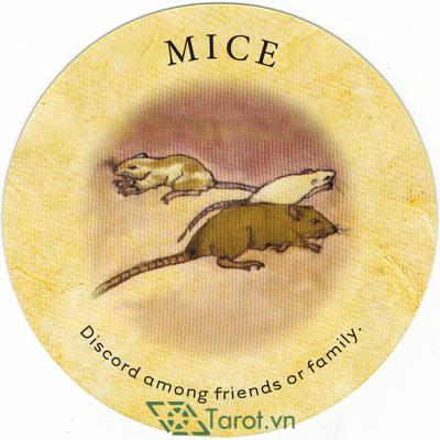 Ý nghĩa lá Mice trong bộ bài Tea Leaf Fortune Cards