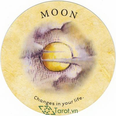 Ý nghĩa lá Moon trong bộ bài Tea Leaf Fortune Cards