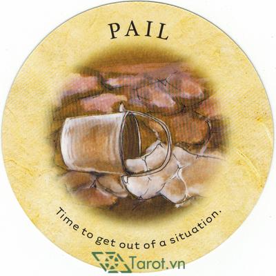 Ý nghĩa lá Pail trong bộ bài Tea Leaf Fortune Cards