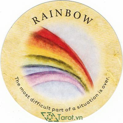 Lá Rainbow - Bộ Bài Tea Leaf Fortune Cards 1