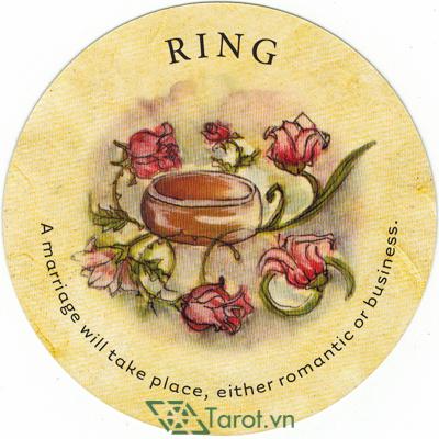 Ý nghĩa lá Ring trong bộ bài Tea Leaf Fortune Cards