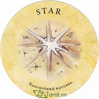 Ý nghĩa lá Star trong bộ bài Tea Leaf Fortune Cards