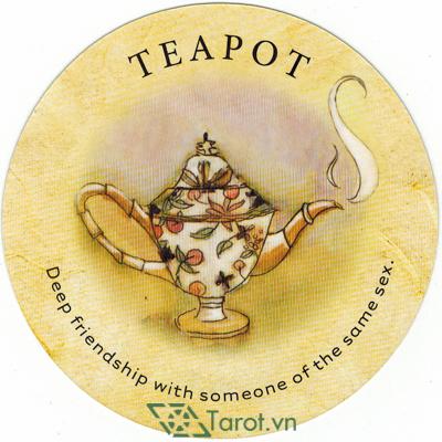 Tea Leaf Fortune Cards - Sách Hướng Dẫn Bói Trà 153