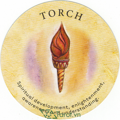 Lá Torch - Bộ Bài Tea Leaf Fortune Cards 1