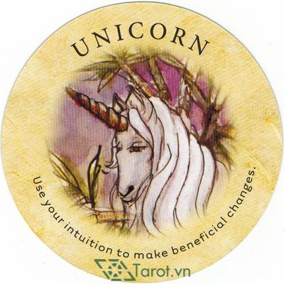 Ý nghĩa lá Unicorn trong bộ bài Tea Leaf Fortune Cards