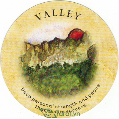Ý nghĩa lá Valley trong bộ bài Tea Leaf Fortune Cards