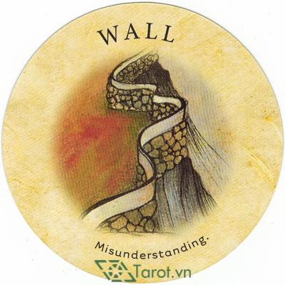 Ý nghĩa lá Wall trong bộ bài Tea Leaf Fortune Cards