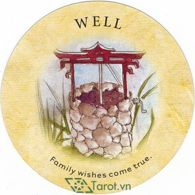 Ý nghĩa lá Weel trong bộ bài Tea Leaf Fortune Cards