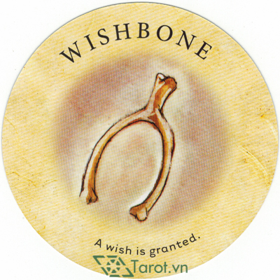Lá Wishbone - Bộ Bài Tea Leaf Fortune Cards 1