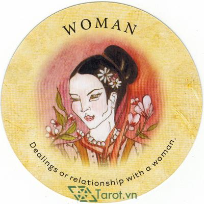 Lá Woman - Bộ Bài Tea Leaf Fortune Cards 1