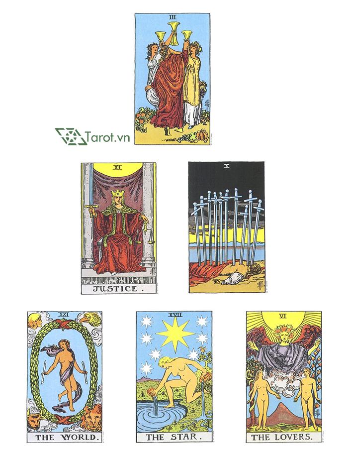 Trải Bài Tarot Mẫu: Ước Mơ Thành Sự Thật