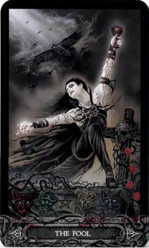 Ý nghĩa lá bài 0. The Fool trong bộ bài Tarot of Vampyres