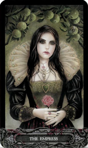 Ý nghĩa lá bài III. The Empress trong bộ bài Tarot of Vampyres