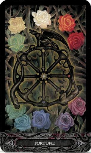 Ý nghĩa lá bài X. Fortune trong bộ bài Tarot of Vampyres