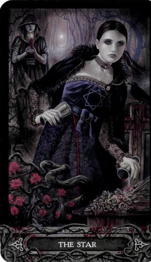 Ý nghĩa lá bài XVII. The Star trong bộ bài Tarot of Vampyres