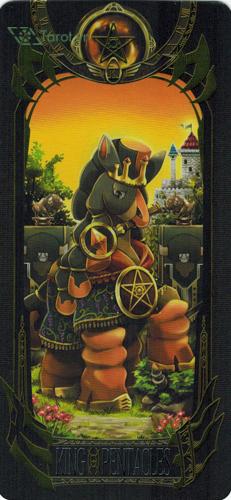 king of pentacles - pokemon tarot