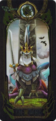king of swords - pokemon tarot