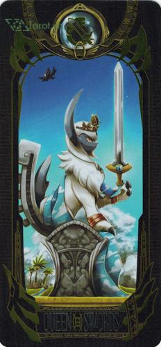 queen of swords - pokemon tarot