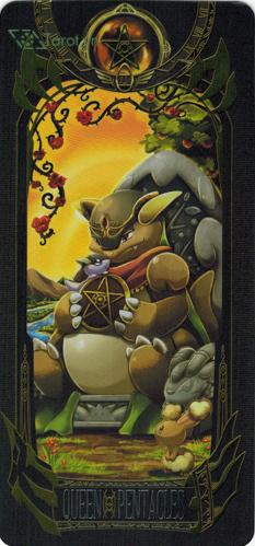 queen of pentacles - pokemon tarot