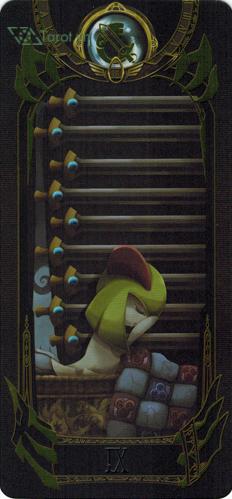 9 of swords - pokemon tarot