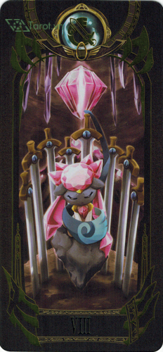 8 of swords - pokemon tarot