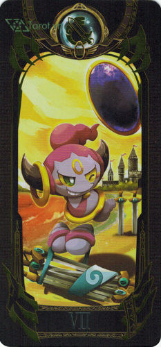 7 of swords - pokemon tarot