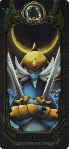2 of swords - pokemon tarot