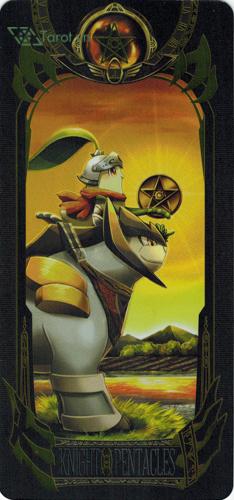 knight of pentacles - pokemon tarot