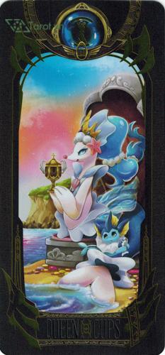 queen of cups - pokemon tarot