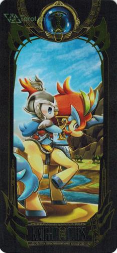 knight of cups - pokemon tarot