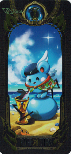 page of cups - pokemon tarot