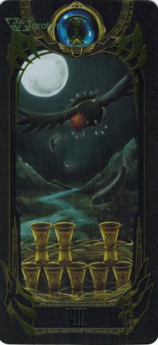 8 of cups - pokemon tarot
