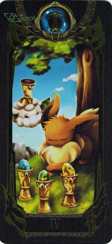 4 of cups - pokemon tarot