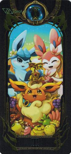 3 of cups - pokemon tarot