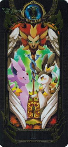 2 of cups - pokemon tarot