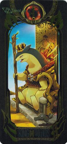 king of wands - pokemon tarot
