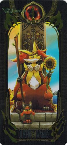 queen of wands - pokemon tarot