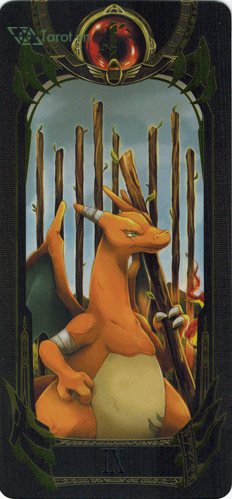 9 of wands - pokemon tarot