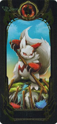 7 of wands - pokemon tarot