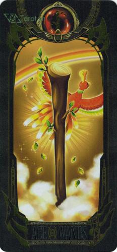 ace of wands - pokemon tarot