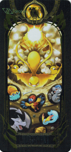 judgement - pokemon tarot