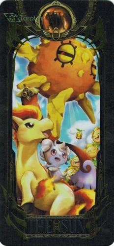 the sun - pokemon tarot