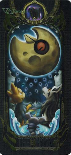 the moon - pokemon tarot