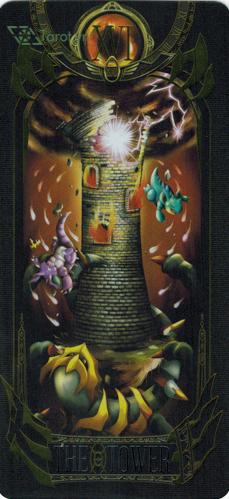 the tower - pokemon tarot