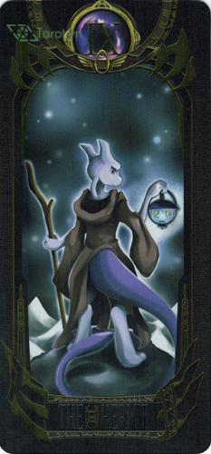 the hermit - pokemon tarot